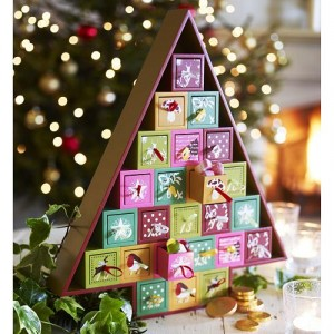 wooden advent christmas tree home gems home gems - Wooden Christmas Advent Calendar