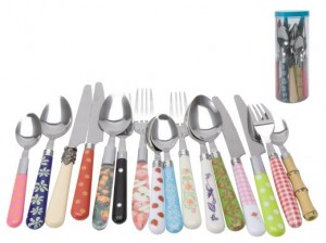 Random cutlery set