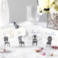 Dining name card holders