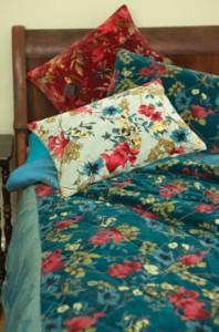 Fair Trade Floral Quilt