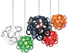 Loopy Lu hanging lightshade