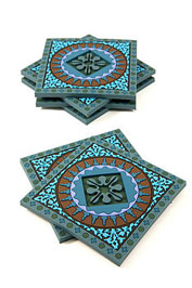 normal_Mosaic_Blue_Coaster_Set