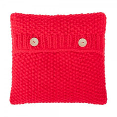 courtyard-boutique-knitted-cushion-red