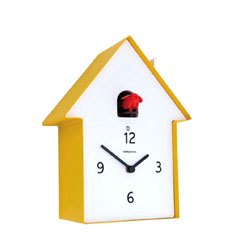 Diamantini & Domeniconi Meridiana Cuckoo Clock Yellow