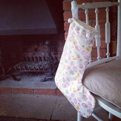 baby girl stocking