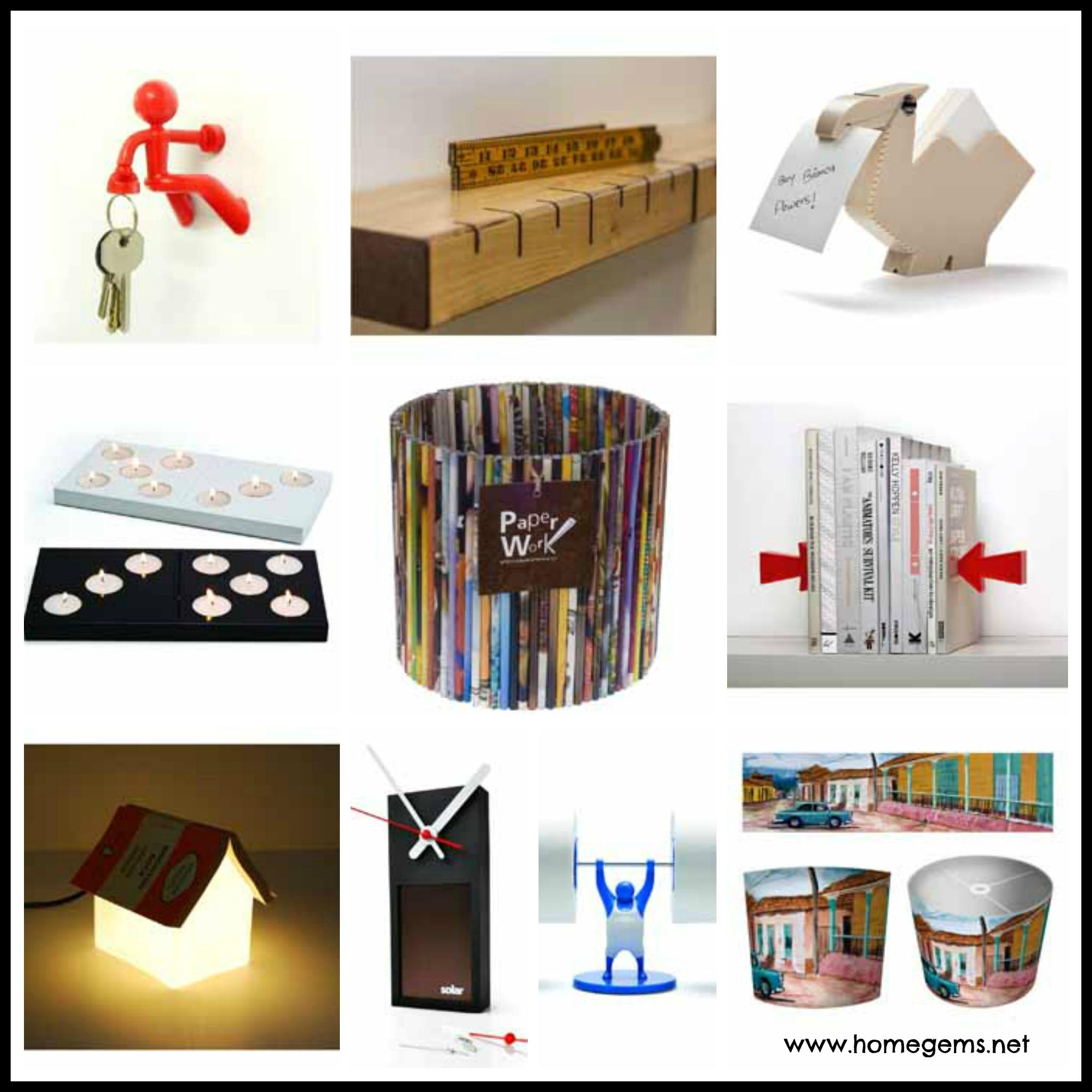 Original contemporary home accessories