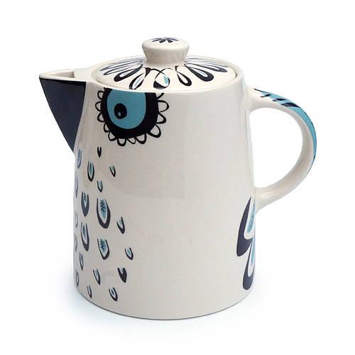 Super quirky owl design teapot by Hannah Turner Ceramics