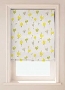 Pretty Spring daffodil flower design blinds