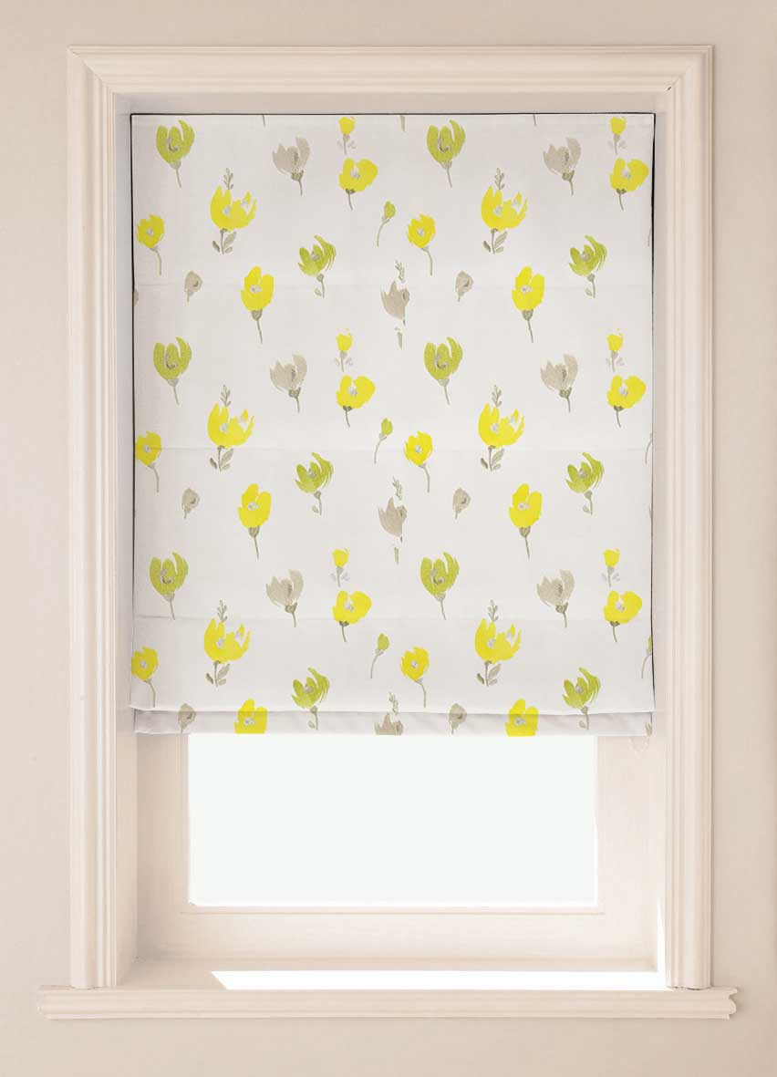 Pretty Spring daffodil flower design blinds