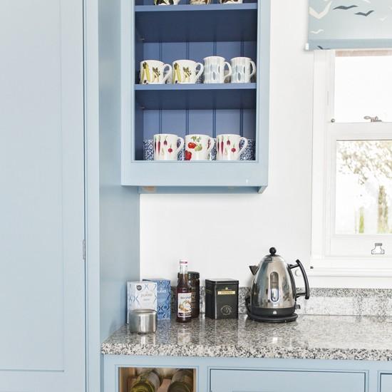 Open display kitchen cabinet