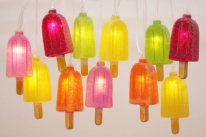 Novelty lollipop design lights