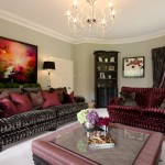 Drawing room interior design scheme by Cream and Browne