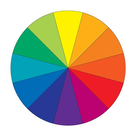 Using the colour wheel in interior design