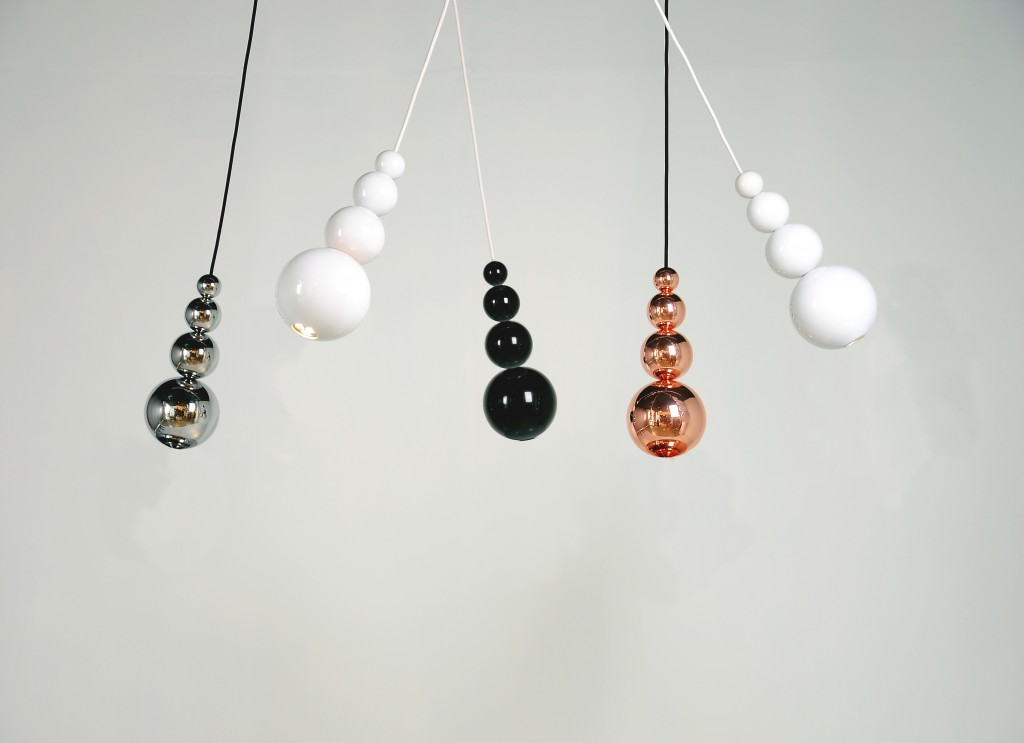 Gorgeous bubble style pendant lights will add elegance to your home