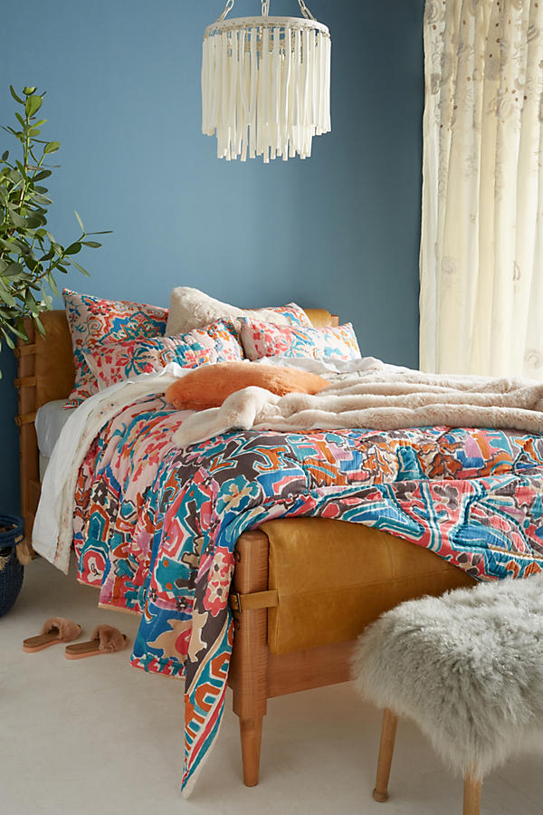 Liven up your bedroom with a stunning Marka quilt